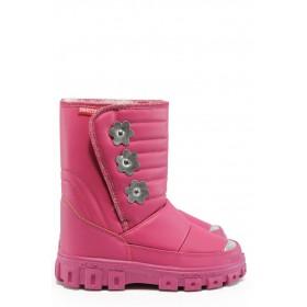 Детски ботуши - висококачествена еко-кожа - розови - EO-8958