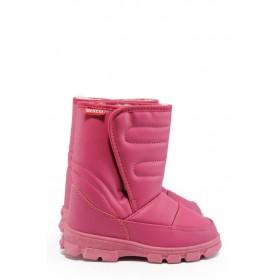 Детски ботуши - висококачествена еко-кожа - розови - EO-8959