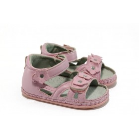 Детски сандали - висококачествена еко-кожа - розови - EO-8781
