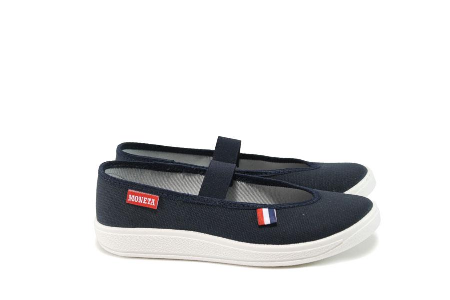 Детски обувки - висококачествен текстилен материал - тъмносин - EO-9057