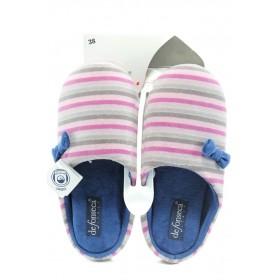 Домашни чехли - висококачествен текстилен материал - розови - EO-9081