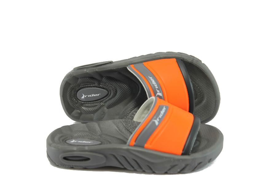 Детски чехли - висококачествен pvc материал - оранжеви - EO-9032