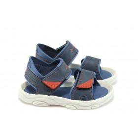 Детски сандали - висококачествен pvc материал - сини - EO-8602