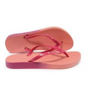 Дамски чехли - висококачествен pvc материал - розови - EO-8613