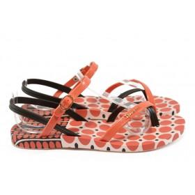 Дамски сандали - висококачествен pvc материал - розови - EO-8619