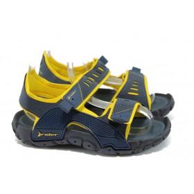 Детски сандали - висококачествен pvc материал - сини - EO-8621