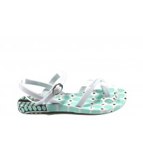 Детски сандали - висококачествен pvc материал - зелени - EO-8661