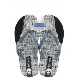 Мъжки чехли - висококачествен pvc материал - сини - EO-8913
