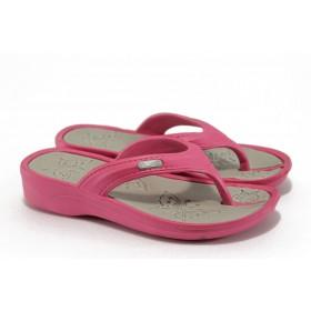 Джапанки - висококачествен pvc материал - розови - EO-8919