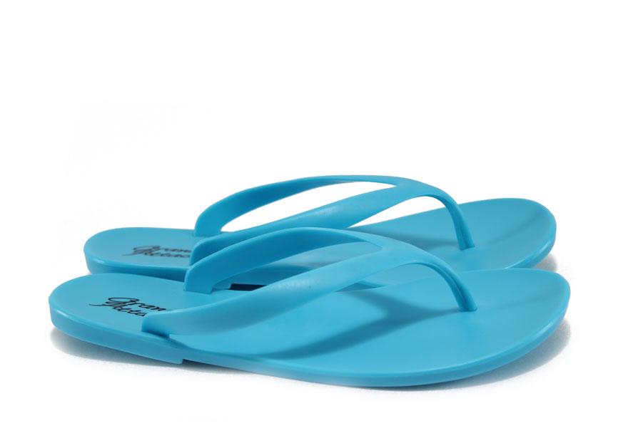 Джапанки - висококачествен pvc материал - сини - EO-8926