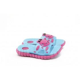 Джапанки - висококачествен pvc материал - розови - EO-8930
