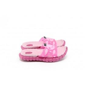 Джапанки - висококачествен pvc материал - розови - EO-8931