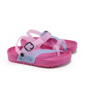 Детски чехли - висококачествен pvc материал - розови - EO-8949