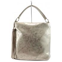 Дамска чанта - висококачествена еко-кожа - жълти - EO-9982