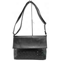 Дамска чанта - висококачествена еко-кожа - черни - EO-9986