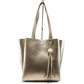 Дамска чанта - висококачествена еко-кожа - жълти - EO-11620