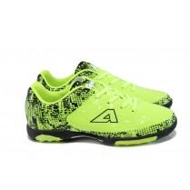 Детски маратонки - висококачествена еко-кожа - зелени - EO-10408