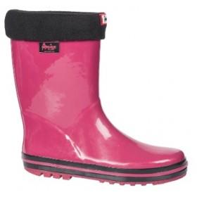 Гумени детски ботуши - висококачествен pvc материал - розови - EO-11341