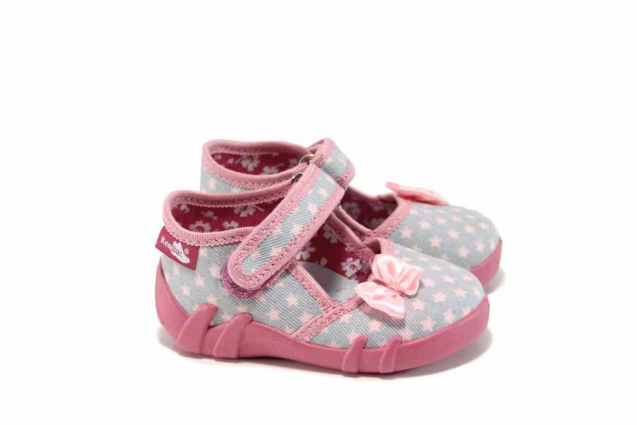 Детски обувки - висококачествен текстилен материал - сиви - EO-11319