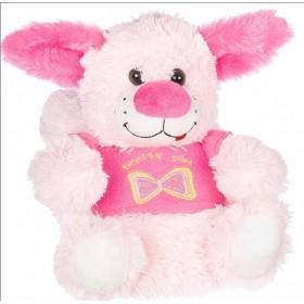 Детски чехли - висококачествен текстилен материал - розови - EO-11328