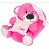 Детски чехли - висококачествен текстилен материал - розови - EO-11327