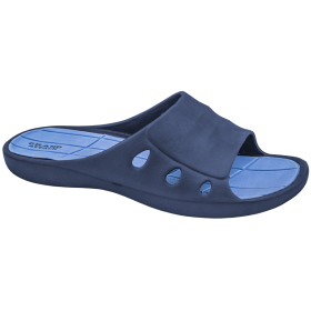 Джапанки - висококачествен pvc материал - сини - EO-10267