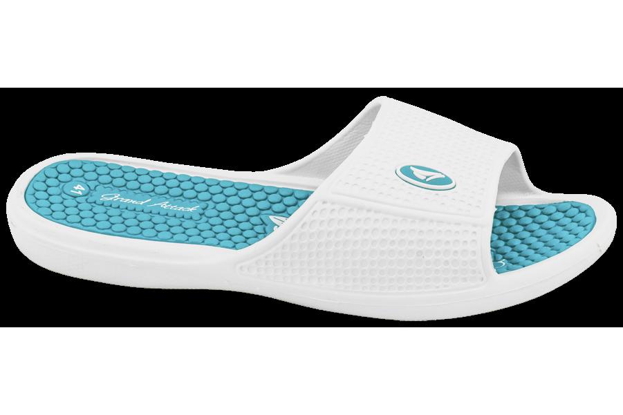 Джапанки - висококачествен pvc материал - бели - EO-10280