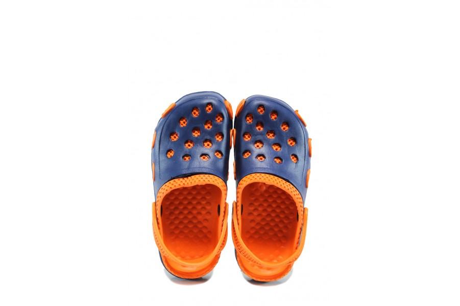 Джапанки - висококачествен pvc материал - сини - EO-10423