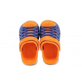 Джапанки - висококачествен pvc материал - сини - EO-10427