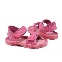 Детски сандали - висококачествен pvc материал - розови - EO-10692