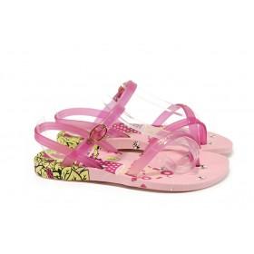 Детски сандали - висококачествен pvc материал - розови - EO-10705