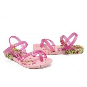 Детски сандали - висококачествен pvc материал - розови - EO-10712