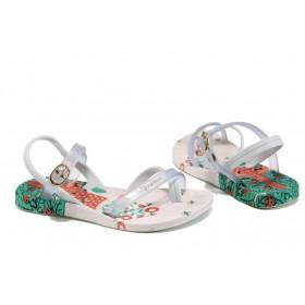Детски сандали - висококачествен pvc материал - бели - EO-10759