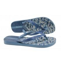 Мъжки чехли - висококачествен pvc материал - сини - EO-10749