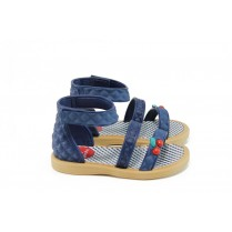 Детски сандали - висококачествен pvc материал - сини - EO-10755