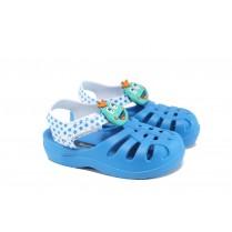 Детски сандали - висококачествен pvc материал - сини - EO-10757