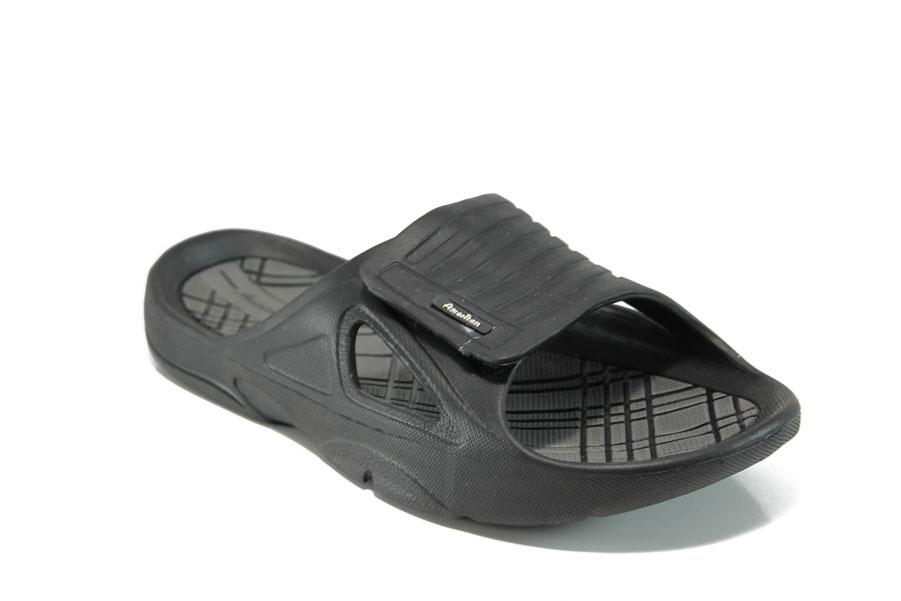 Джапанки - висококачествен pvc материал - черни - EO-10955