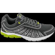 Мъжки маратонки - висококачествен текстилен материал - сиви - EO-10222