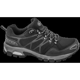 Мъжки маратонки - висококачествен текстилен материал - черни - EO-10252