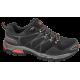Мъжки маратонки - висококачествен текстилен материал - черни - EO-10253