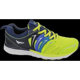 Мъжки маратонки - висококачествен текстилен материал - сини - EO-10255