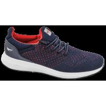 Мъжки маратонки - висококачествен текстилен материал - сини - EO-10230