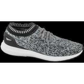 Мъжки маратонки - висококачествен текстилен материал - сиви - EO-10257