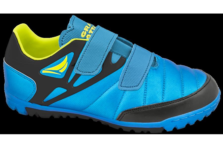 Детски маратонки - висококачествена еко-кожа - сини - EO-10338