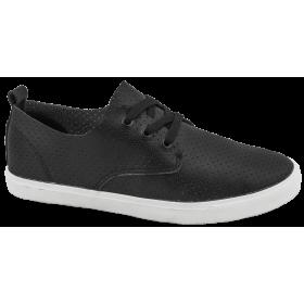 Спортни мъжки обувки - висококачествена еко-кожа - черни - EO-10225