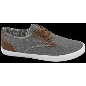 Спортни мъжки обувки - висококачествен текстилен материал - сиви - EO-10217