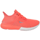 Дамски маратонки - висококачествен текстилен материал - оранжеви - EO-10311