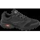Мъжки маратонки - еко-кожа с текстил - черни - EO-10232