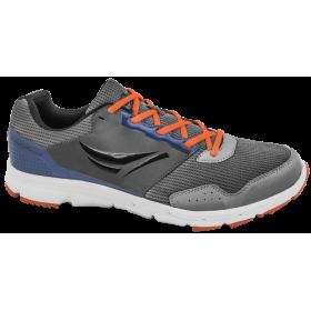 Мъжки маратонки - висококачествен текстилен материал - сиви - EO-10259