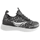 Детски маратонки - висококачествен текстилен материал - черни - EO-10341